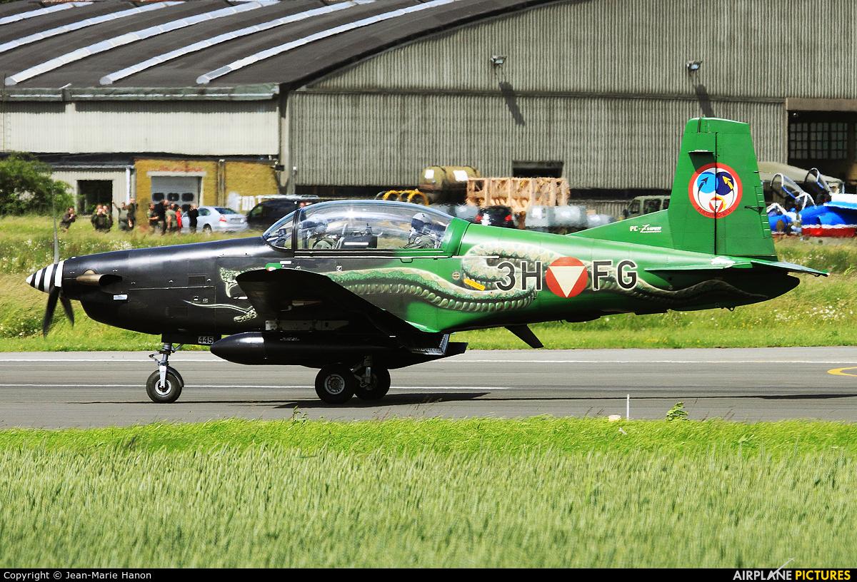 Austria - Air Force 3H-FG aircraft at Florennes