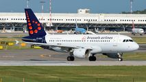 OO-SSN - Brussels Airlines Airbus A319 aircraft
