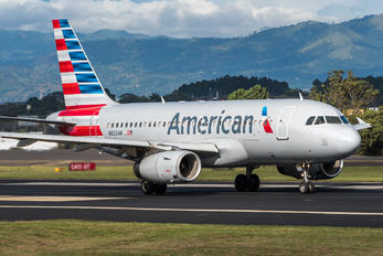 N823AW - American Airlines Airbus A319