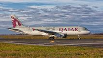 A7-ADF - Qatar Airways Airbus A320 aircraft