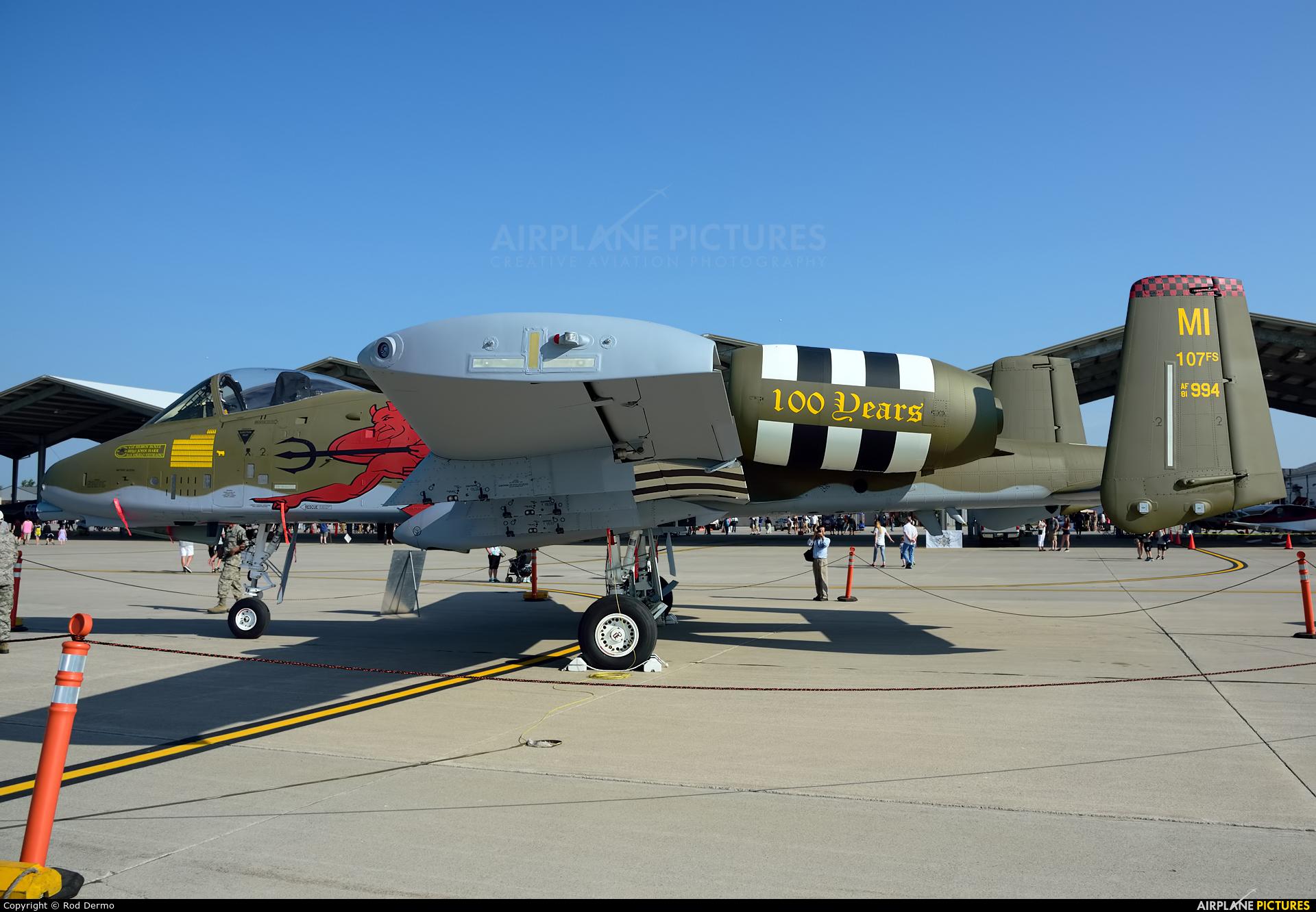 USA - Air Force 81-0994 aircraft at Selfridge ANGB