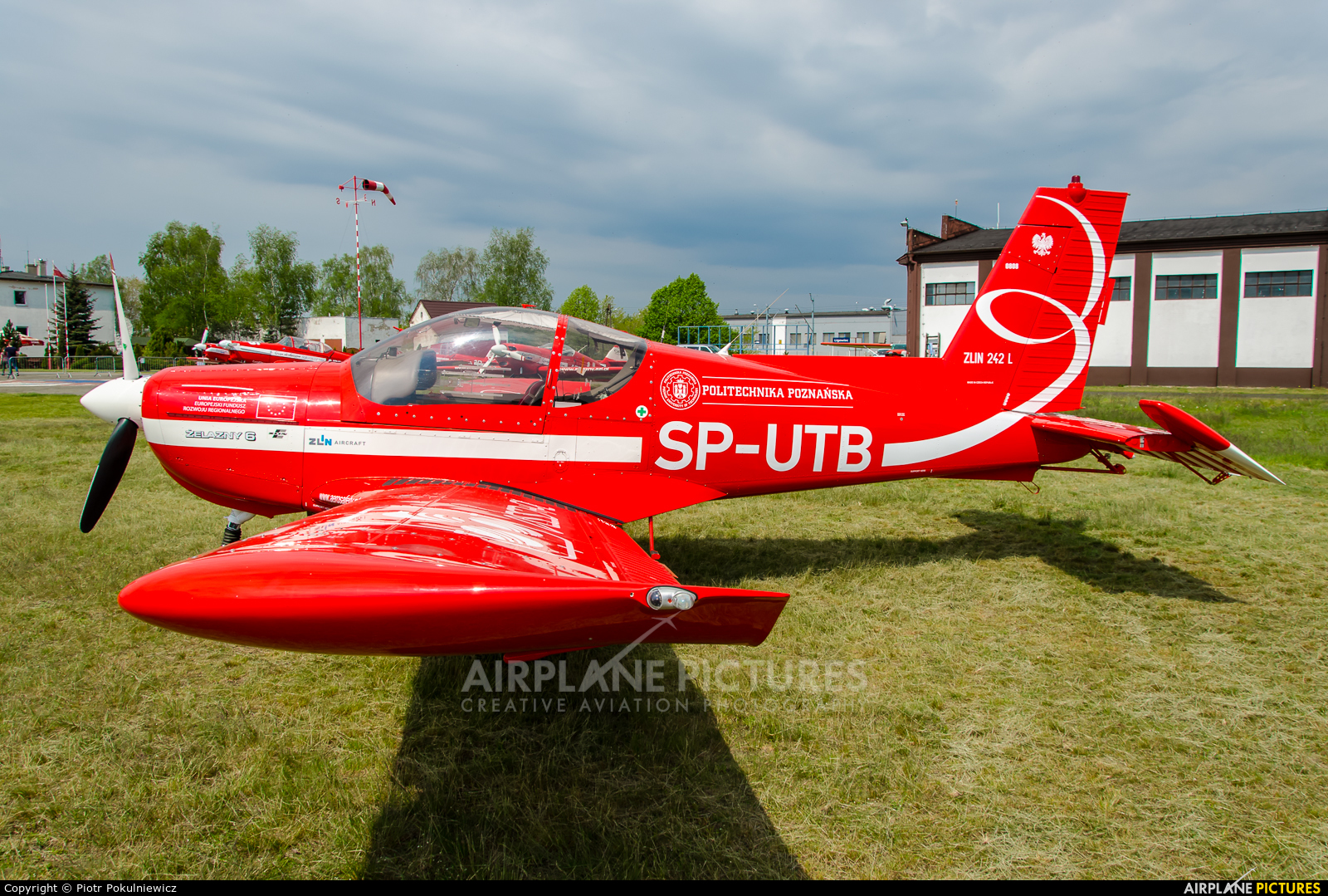Grupa Akrobacyjna Żelazny - Acrobatic Group SP-UTB aircraft at Poznań - Kobylnica