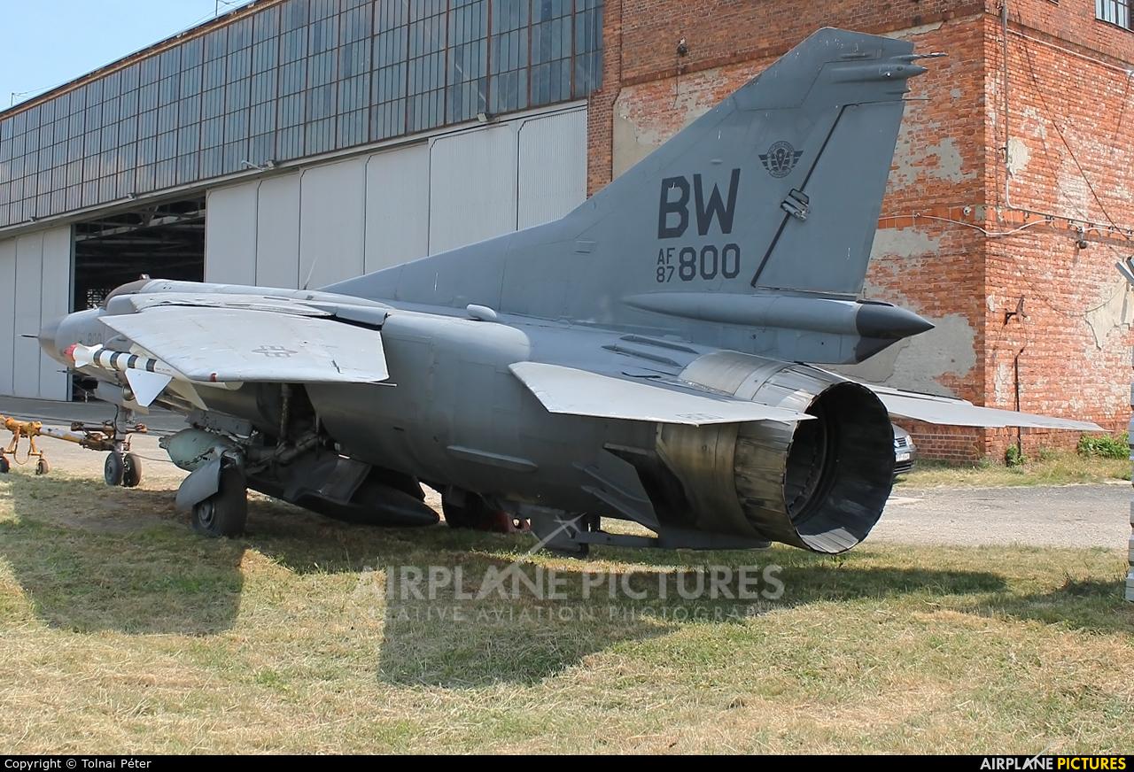 Hungary - Air Force 01 aircraft at Budaors