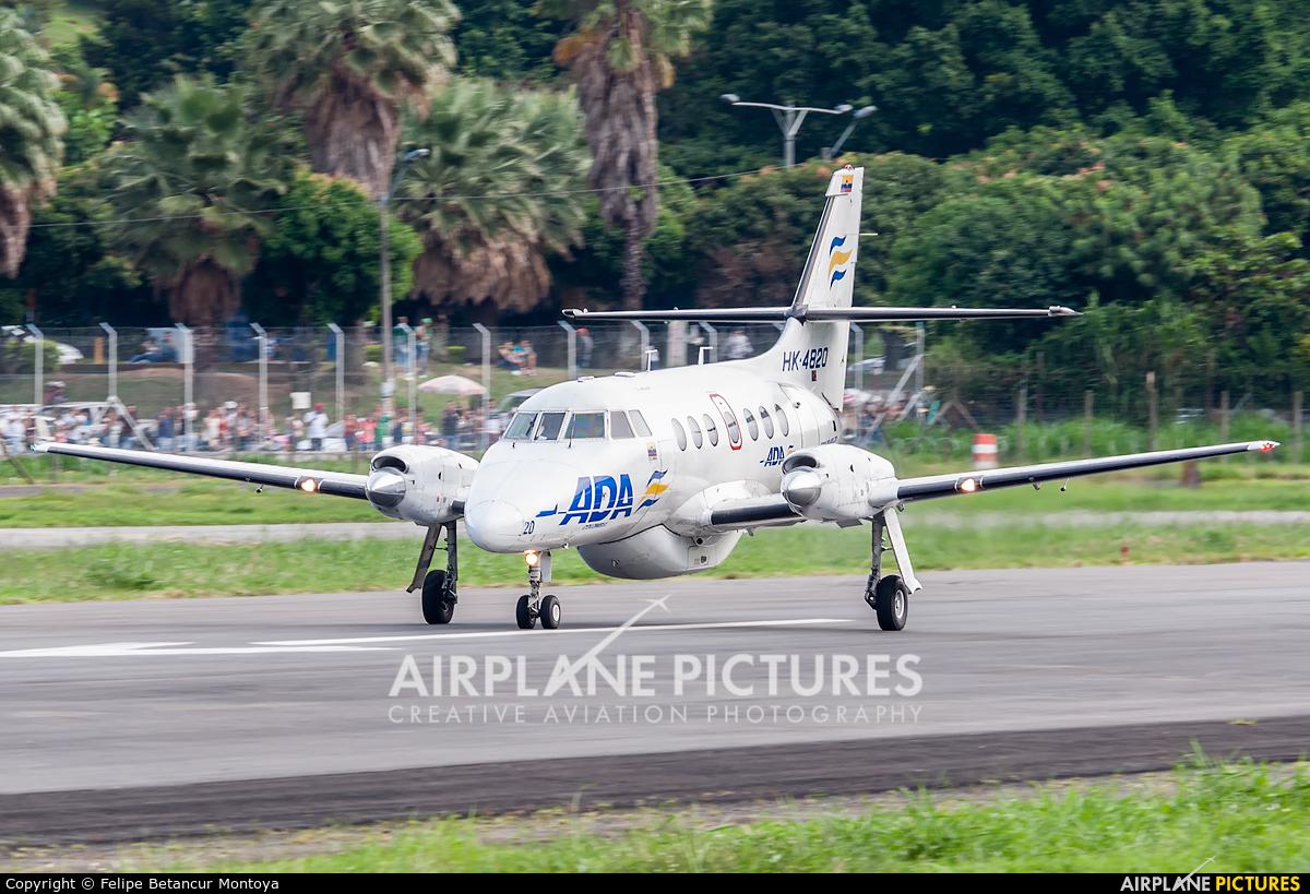 ADA Aerolinea de Antioquia HK-4820 aircraft at Medellin - Olaya Herrera
