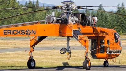 N247AC - Erickson Air-Crane Sikorsky S-64E/F Skycrane