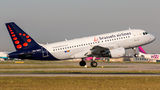 Brussels Airlines Airbus A319 OO-SSQ at Budapest - Ferihegy airport