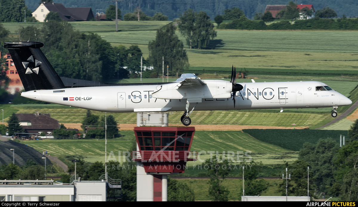 Austrian Airlines/Arrows/Tyrolean OE-LGP aircraft at Zurich