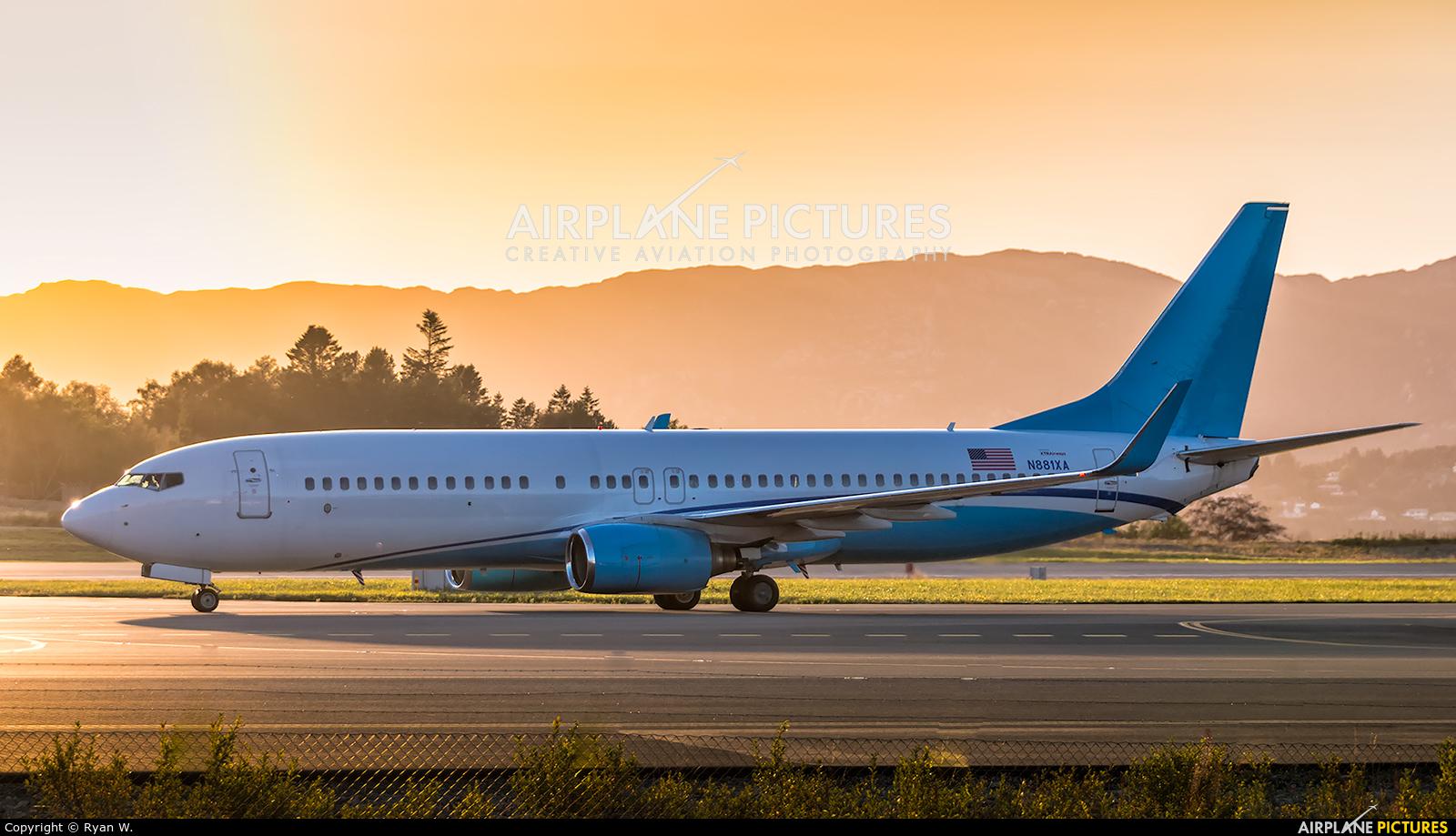 Xtra Airways N881XA aircraft at Bergen - Flesland