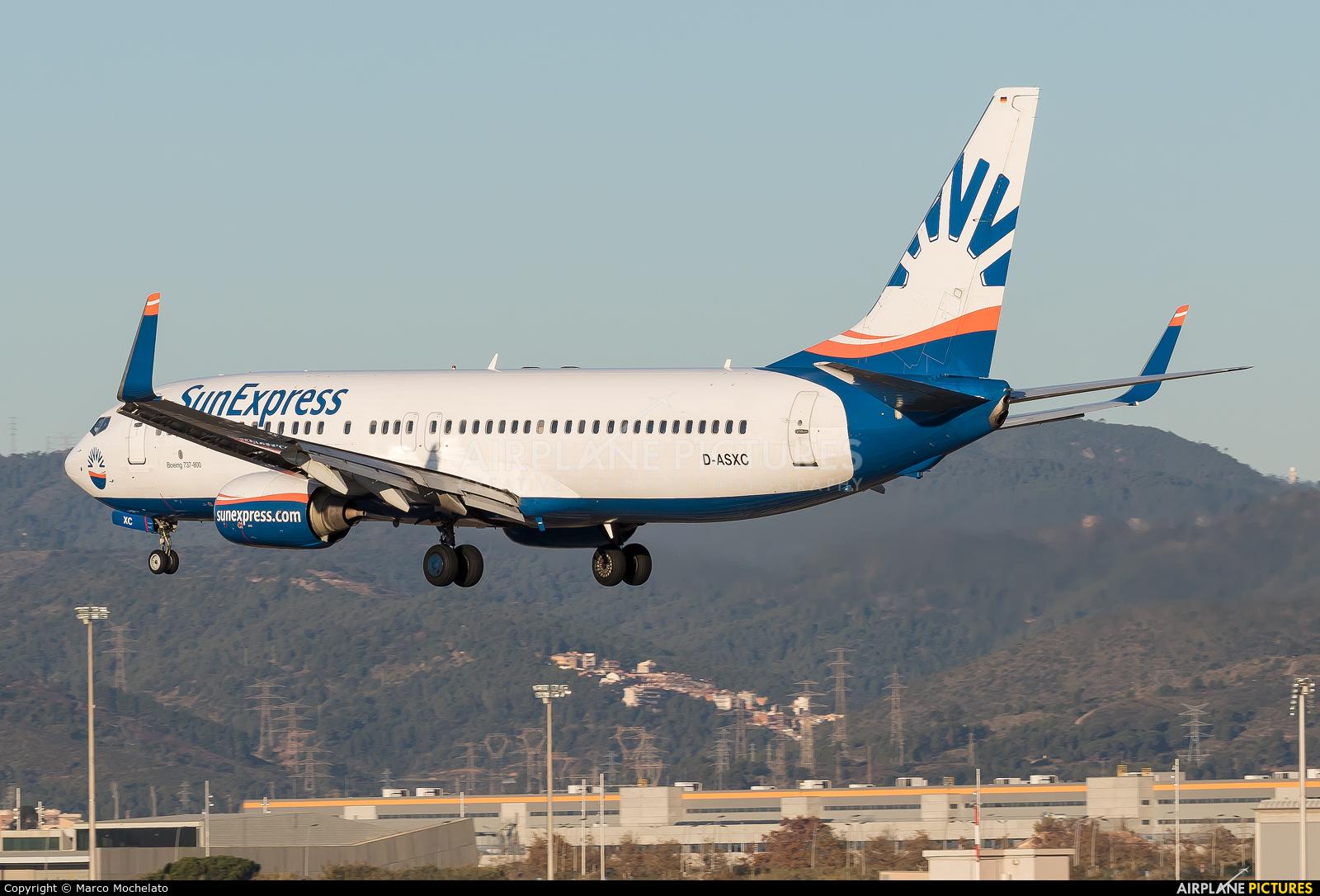 SunExpress Germany D-ASXC aircraft at Barcelona - El Prat