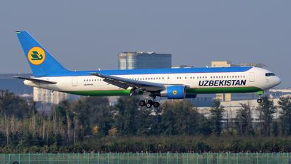 UK67008 - Uzbekistan Airways Boeing 767-300ER