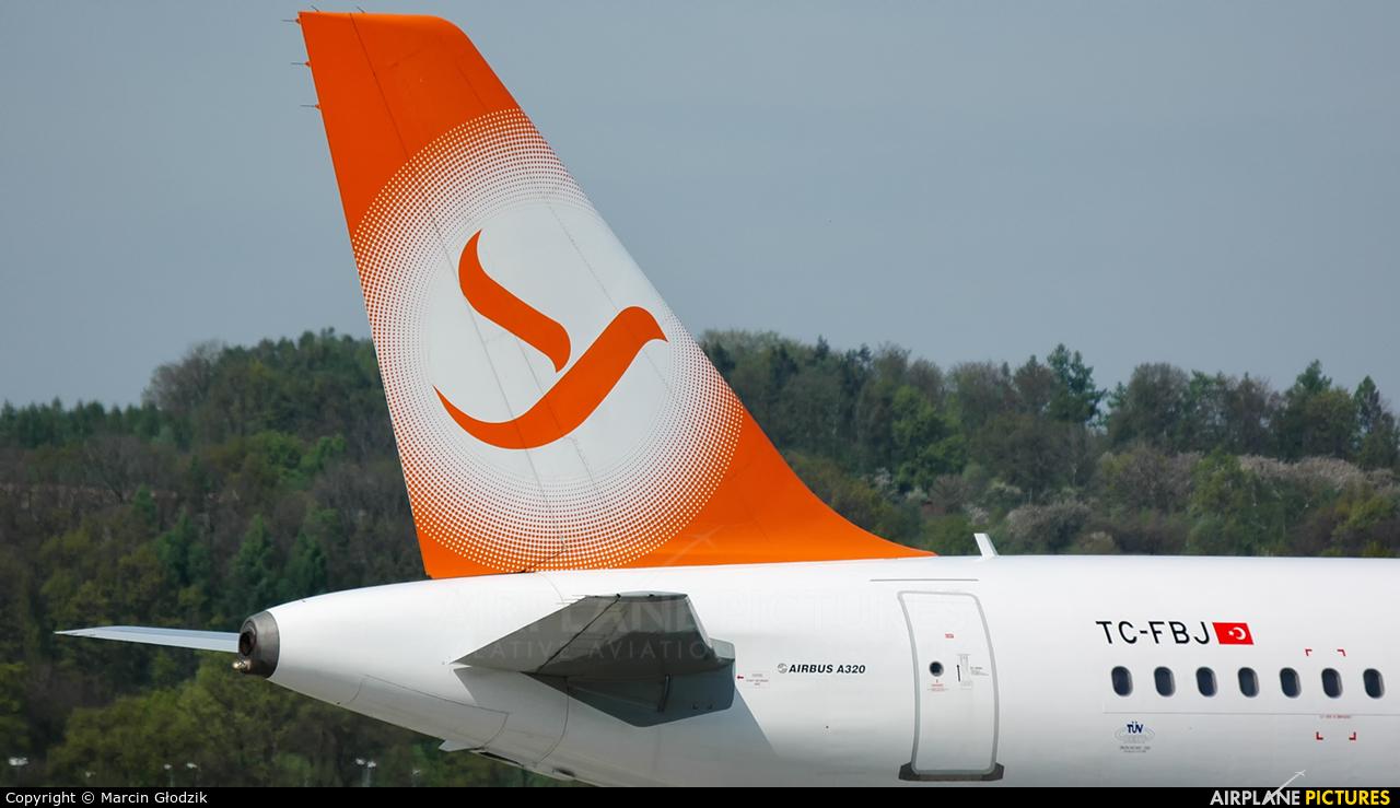 FreeBird Airlines TC-FBJ aircraft at Kraków - John Paul II Intl