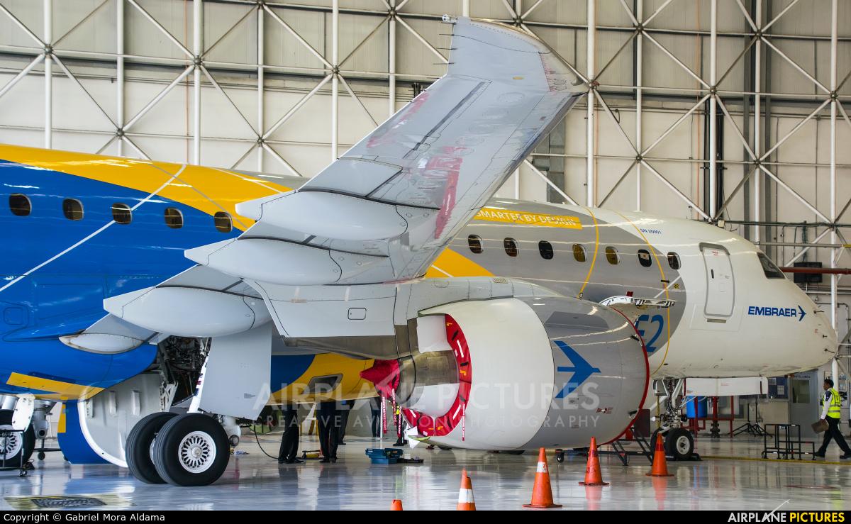 Embraer PR-ZEY aircraft at Mexico City - Licenciado Benito Juarez Intl