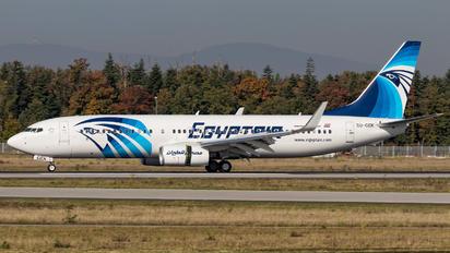 SU-GEK - Egyptair Boeing 737-86X(WL)