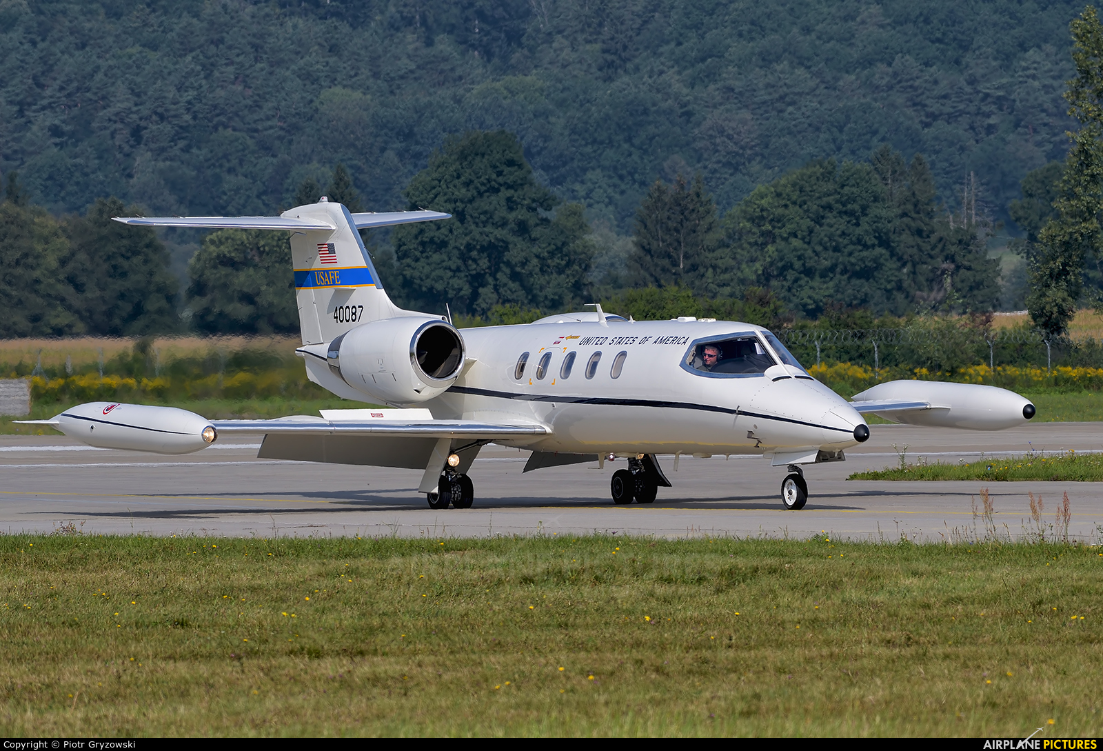 Gates Learjet C 21a Usafe 84 0096
