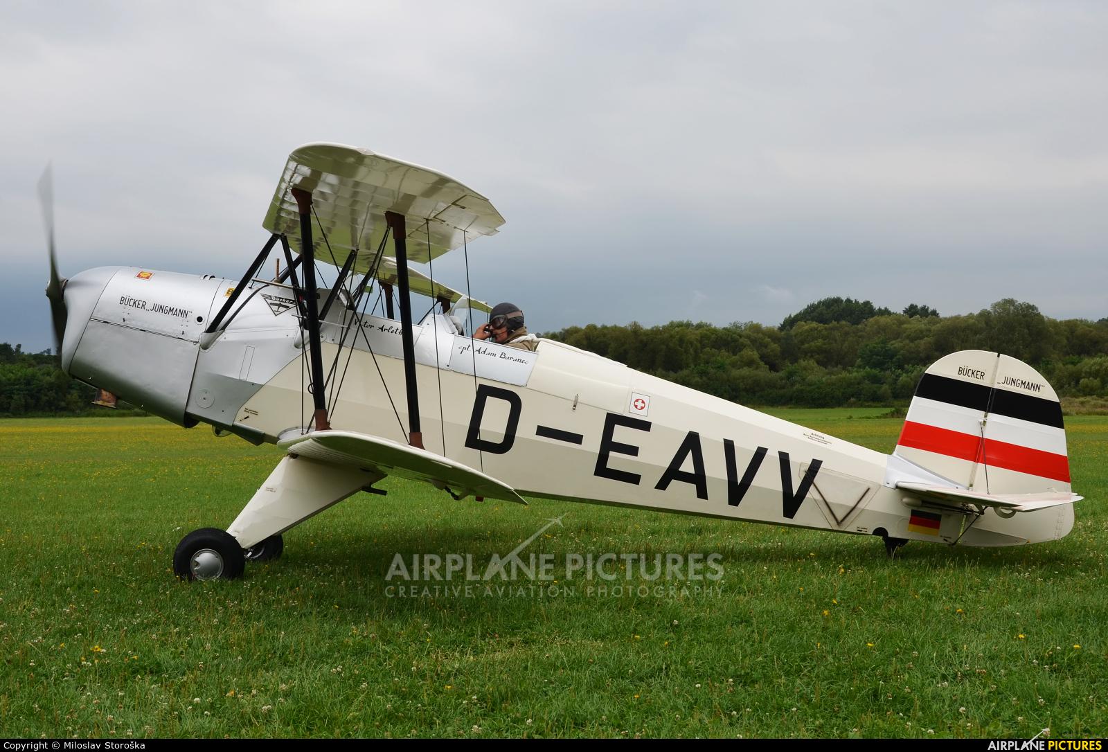 Private D-EAVV aircraft at Očová