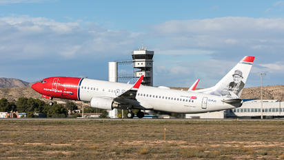 EI-FJC - Norwegian Air Shuttle Boeing 737-800