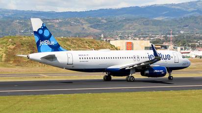 N828JB - JetBlue Airways Airbus A320
