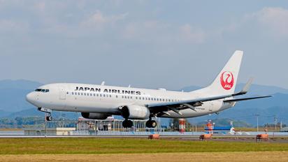JA314J - JAL - Japan Airlines Boeing 737-800
