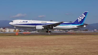 JA8677 - ANA - All Nippon Airways Boeing 767-300