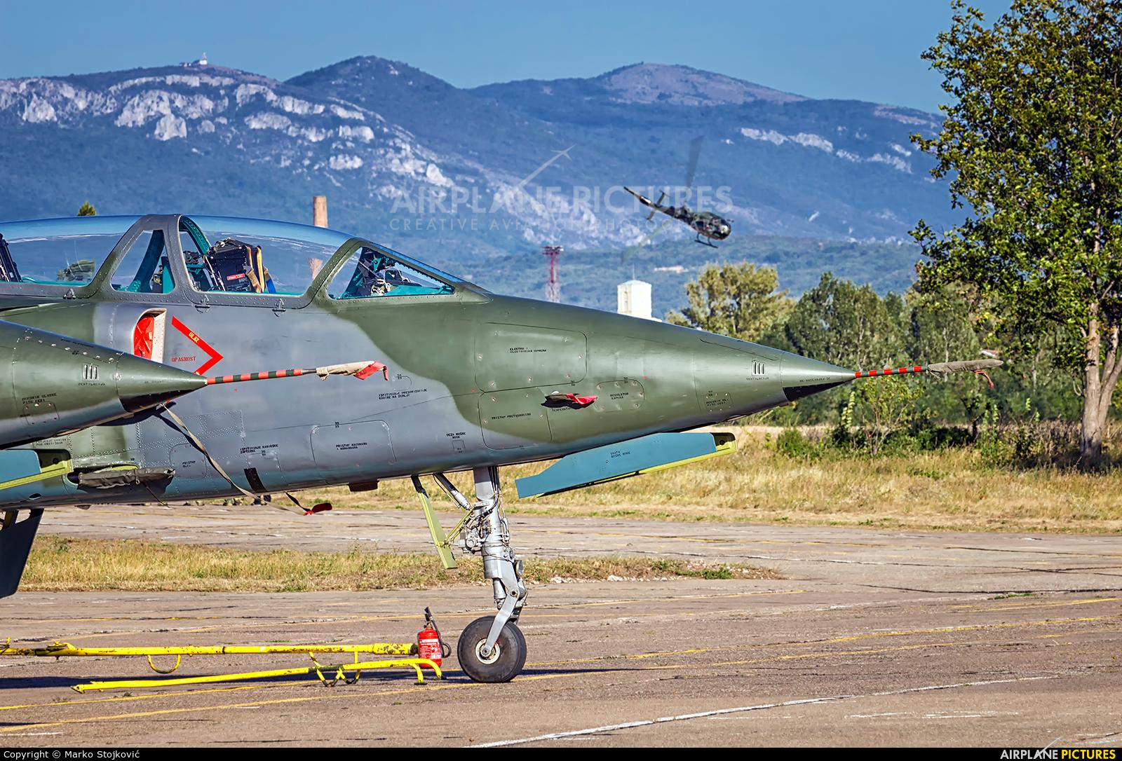 Serbia - Air Force 25525 aircraft at Nis - Konstantin Veliki