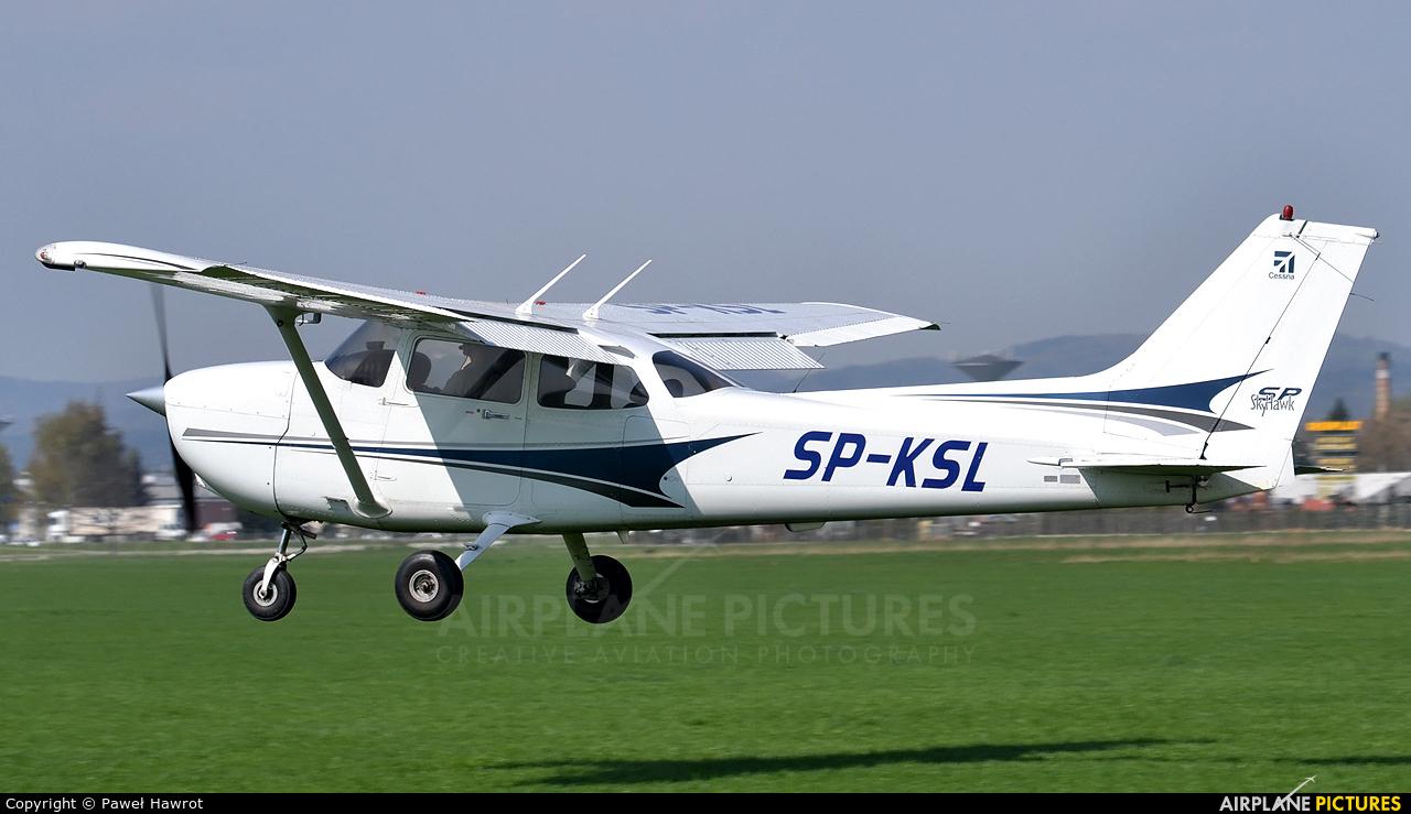 Aeroklub Śląski SP-KSL aircraft at Krosno