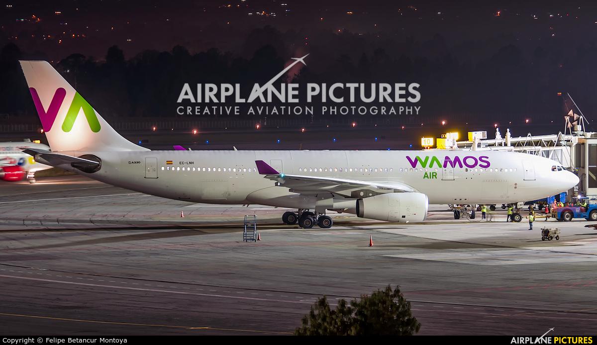 Wamos Air EC-LNH aircraft at Medellin - Jose Maria Cordova Intl
