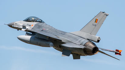 FA-92 - Belgium - Air Force General Dynamics F-16A Fighting Falcon