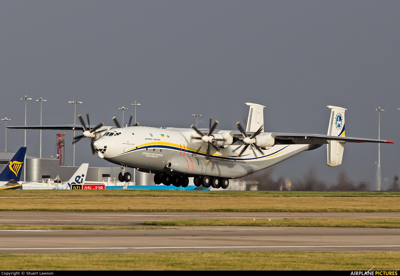 Antonov Airlines /  Design Bureau UR-09307 aircraft at Manchester