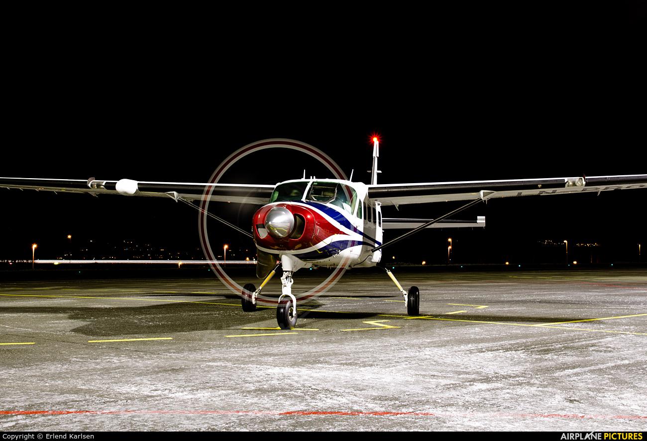 Benair LN-PBO aircraft at Trondheim - Vaernes