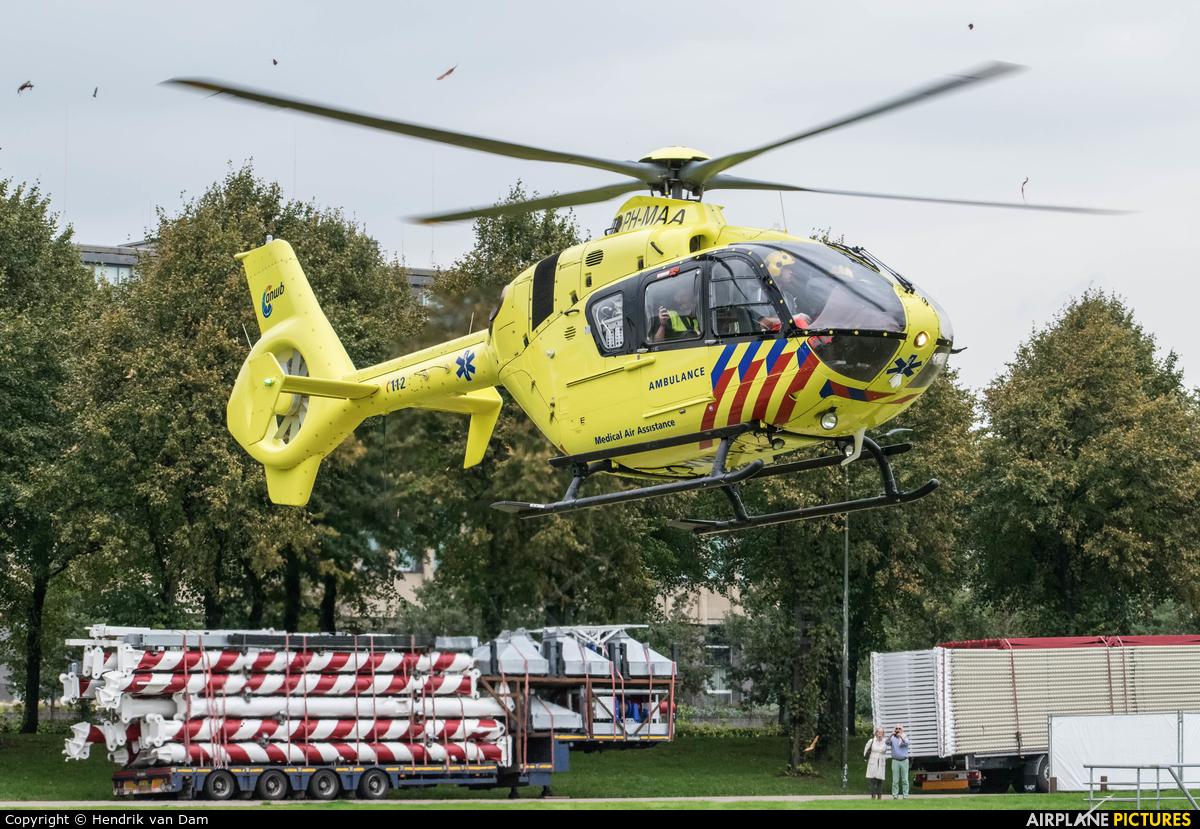 ANWB Medical Air Assistance PH-MAA aircraft at Off Airport - Netherlands