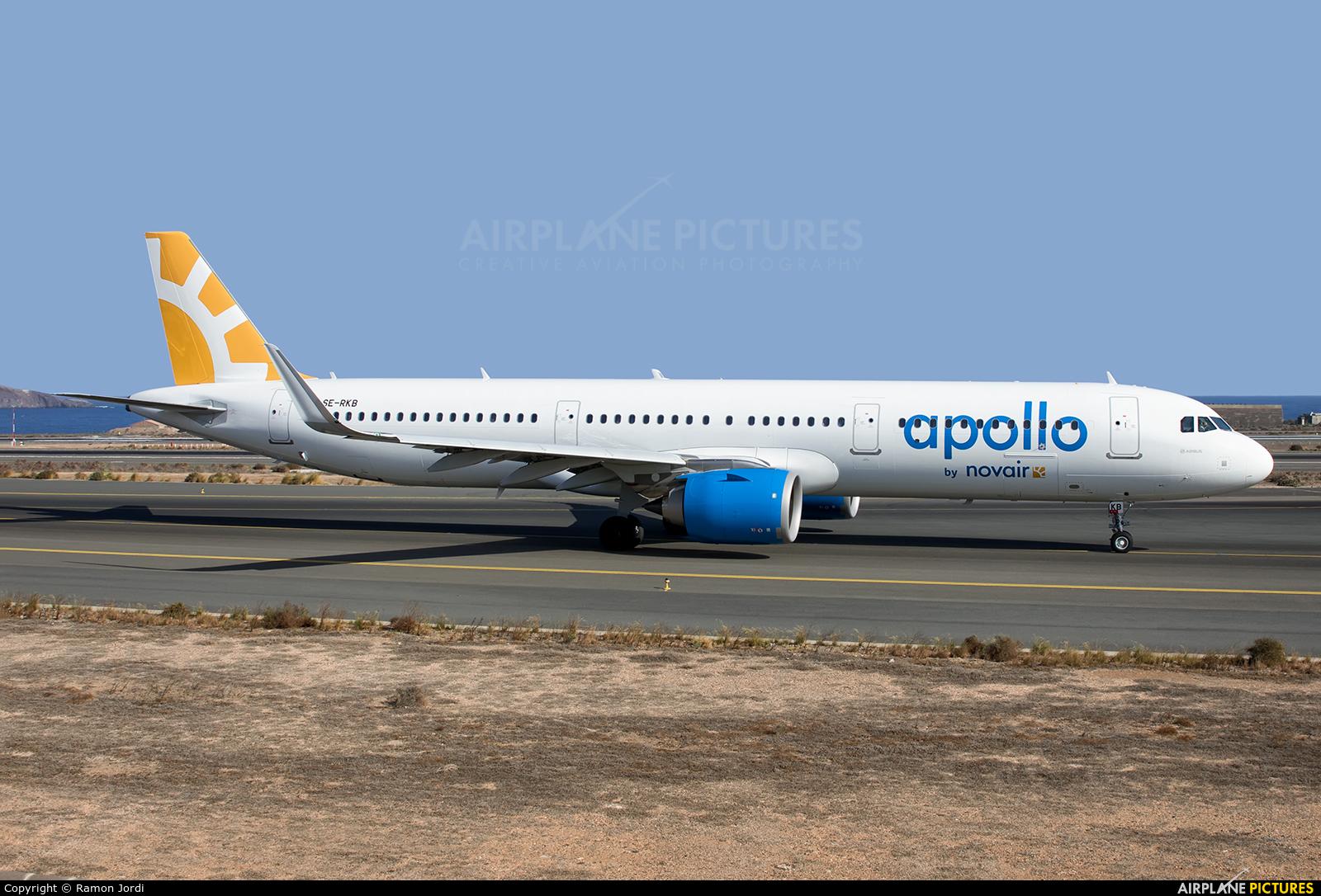 Novair SE-RKB aircraft at Las Palmas de Gran Canaria
