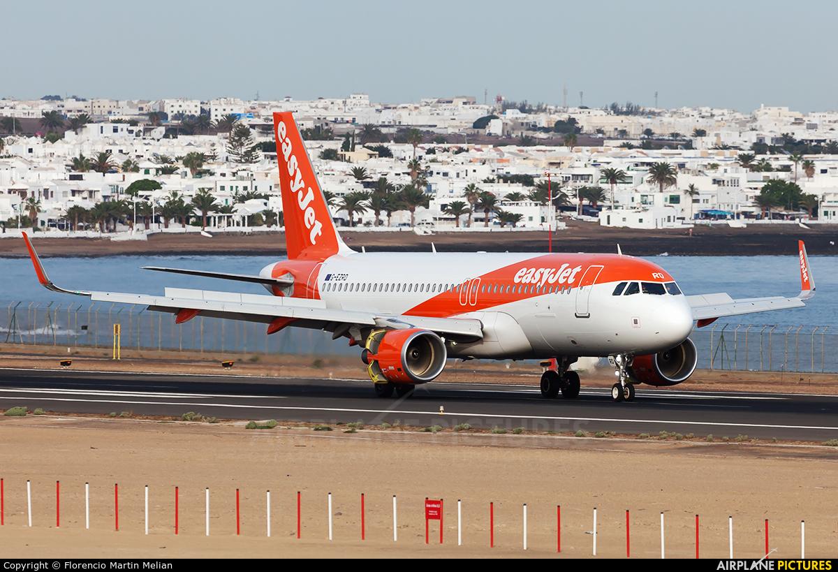 easyJet G-EZRD aircraft at Lanzarote - Arrecife
