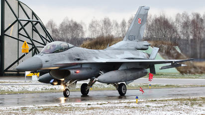 4074 - Poland - Air Force Lockheed Martin F-16C Jastrząb