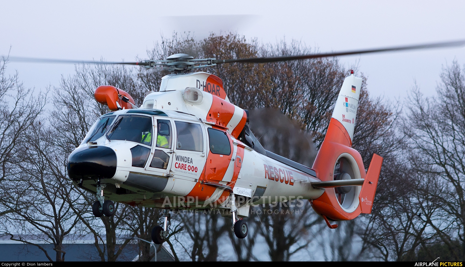 Northern Helicopters D HOAR Aircraft At Heli Port Emmen