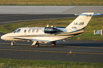 9A-JIM - Air Pannonia Cessna 525 CitationJet