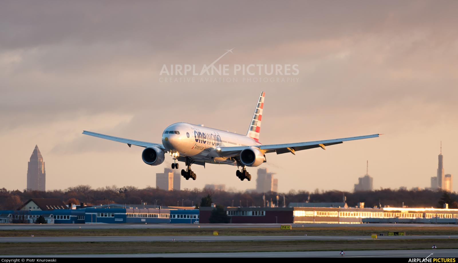 American Airlines N791AN aircraft at Frankfurt