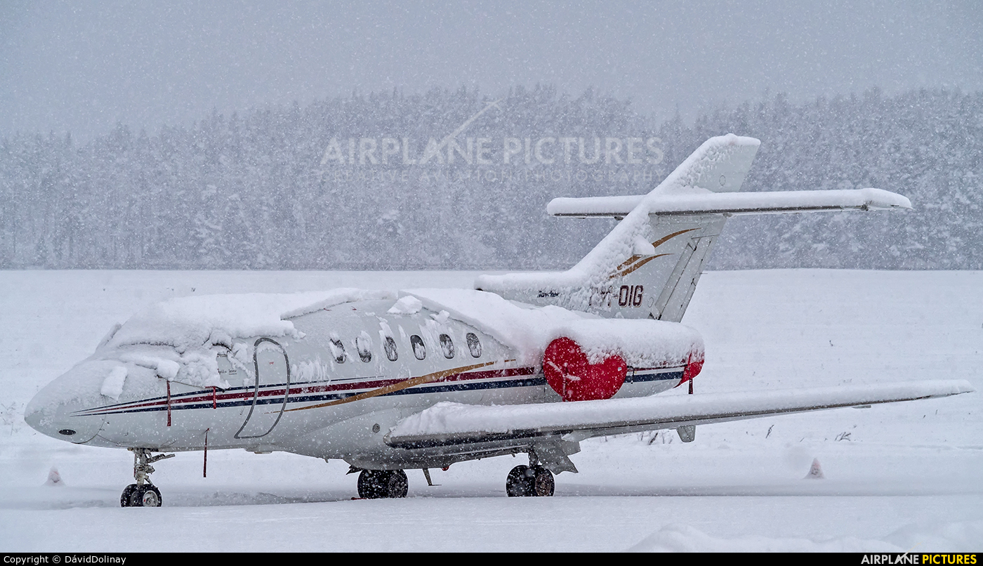 Private OM-OIG aircraft at Poprad - Tatry