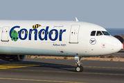D-AIAA - Condor Airbus A321 aircraft