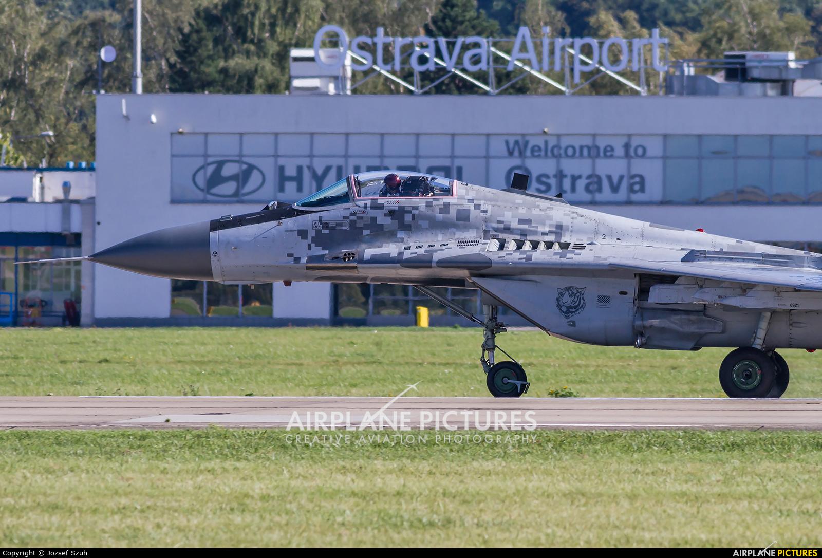 Slovakia -  Air Force 0921 aircraft at Ostrava Mošnov