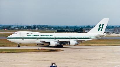 SE-DFZ - Nigeria Airways Boeing 747-200