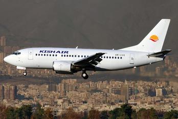 UR-CQS - Kish Air Boeing 737-500