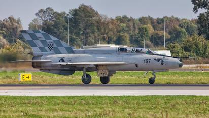 167 - Croatia - Air Force Mikoyan-Gurevich MiG-21UMD