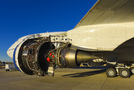 Rolls Royce testbed for new Trent engines (Boeing 747-200) visits Tuscon