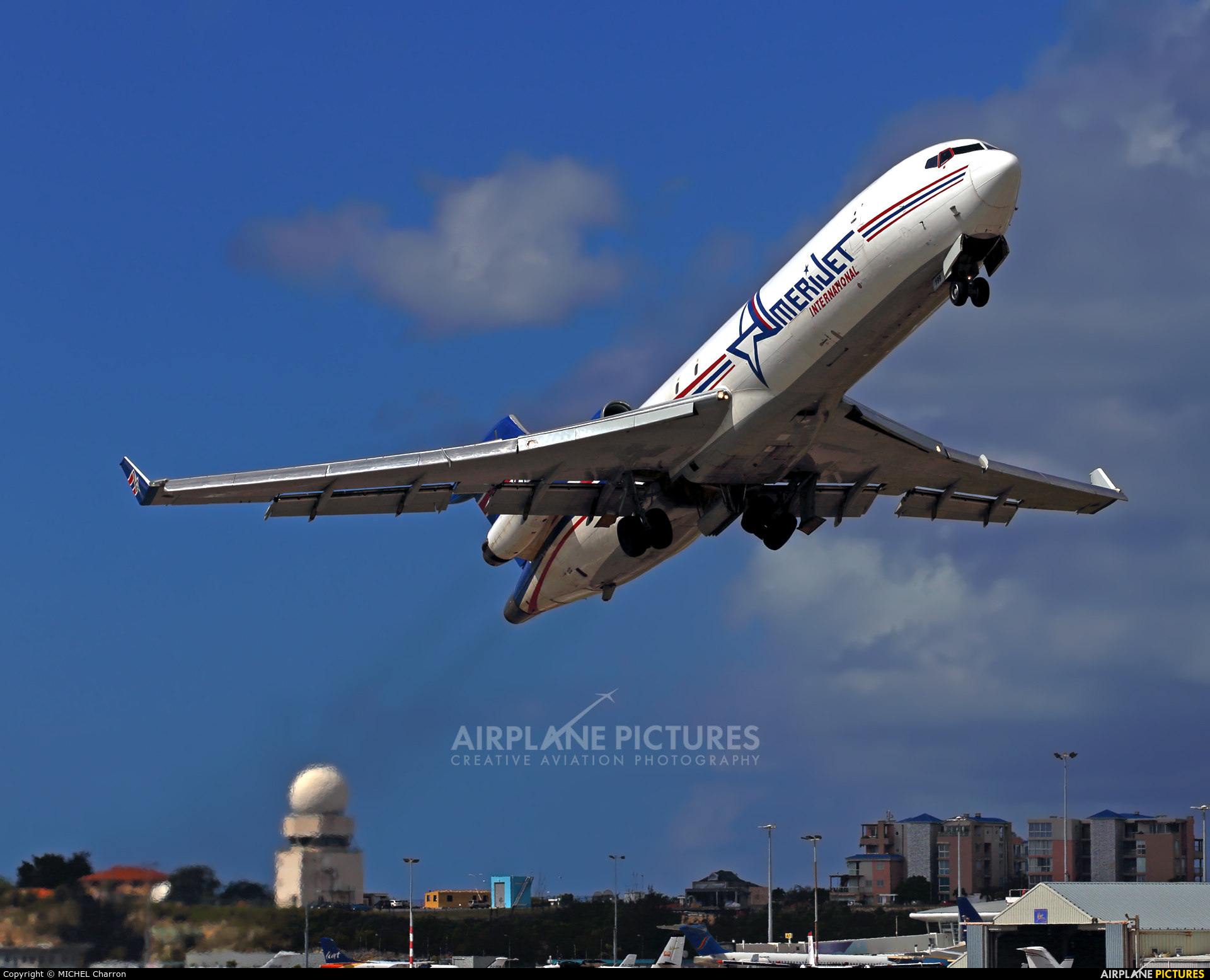 Amerijet International N199AJ aircraft at Sint Maarten - Princess Juliana Intl