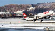HB-JHJ - Swiss Airbus A330-300 aircraft