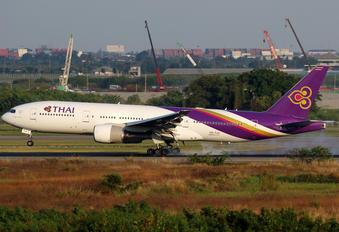 HS-TJV - Thai Airways Boeing 777-200