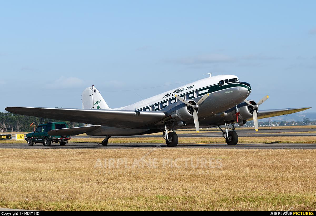 Air Chathams ZK-AWP aircraft at Auckland Intl