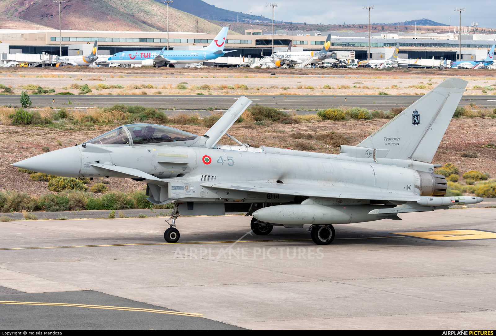 Italy - Air Force MM7289 aircraft at Aeropuerto de Gran Canaria