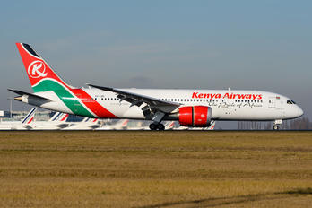 5Y-KZE - Kenya Airways Boeing 787-8 Dreamliner