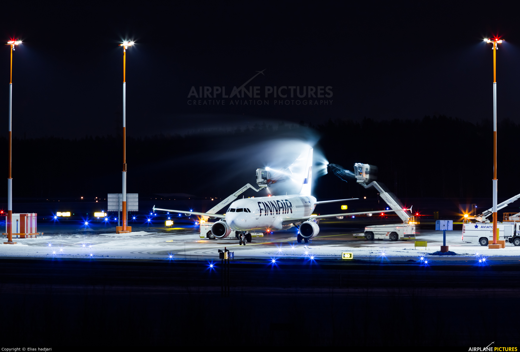 Finnair OH-LZB aircraft at Helsinki - Vantaa